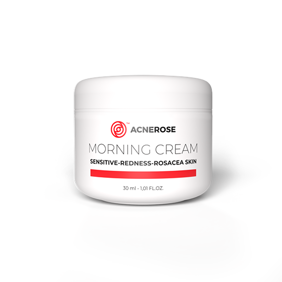 Maść na trądzik różowaty ACNEROSE morning cream